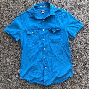 Express Short Sleeve Button Up